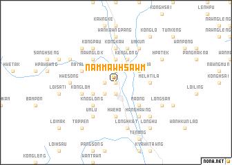 map of Nammawhsawm