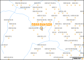 map of Nammawhsom