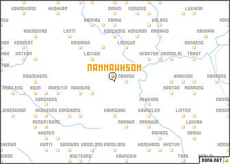 map of Nammawhsom