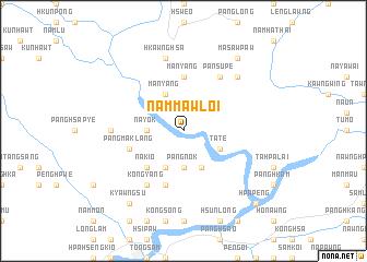 map of Nammawloi