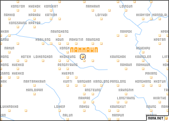 map of Nammawn