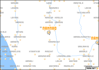 map of Namnao