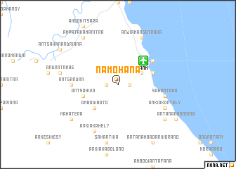 map of Namohana
