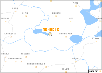 map of Nampala