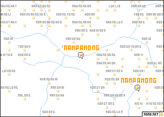 map of Nampāmöng