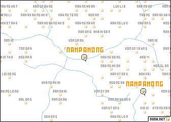 map of Nampāmöng