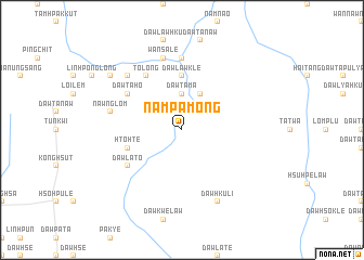 map of Nam Pa-mong