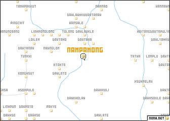 map of Nam Pa-mong