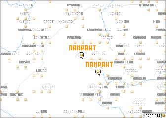 map of Nampawt