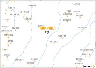 map of Nampiali