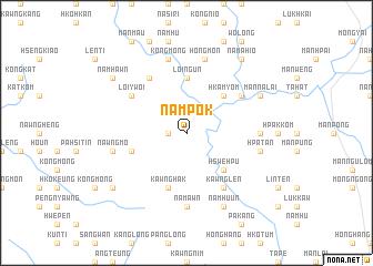 map of Nampōk