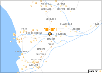 map of Ñampol