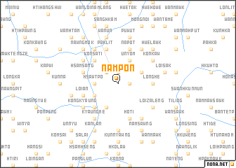 map of Nampon
