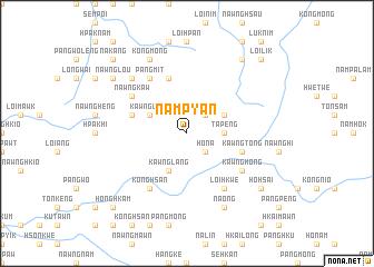 map of Nampyan