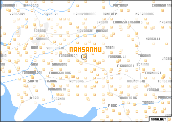 map of Namsanmu