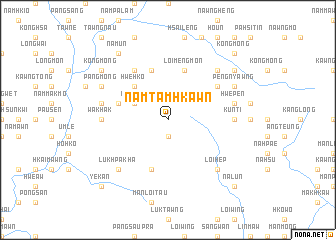 map of Namtamhkawn