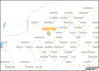 map of Namtao