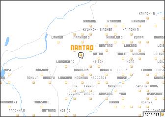 map of Namtao