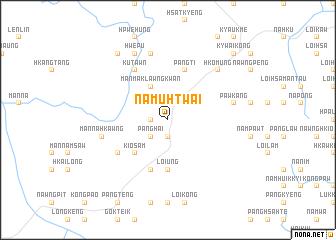 map of Na-mu-htwai