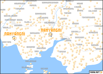 map of Namyang-ni