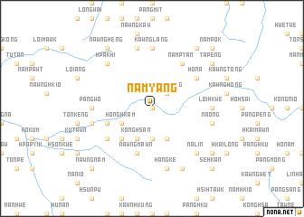 map of Nam-yang