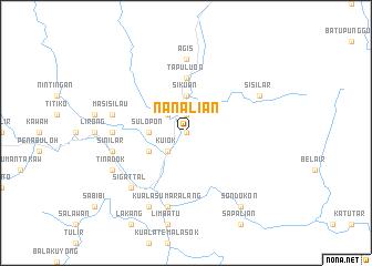 map of Nanalian