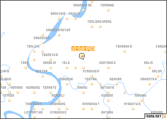 map of Na-nauk