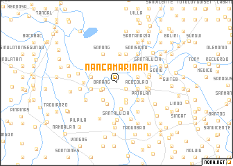map of Nancamarinan