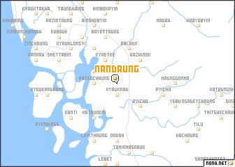 map of Nandaung