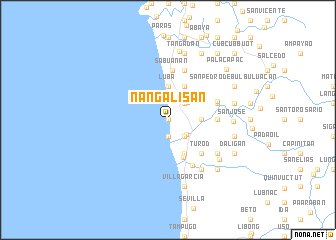 map of Nangalisan