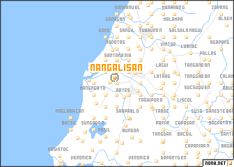 map of Nangalisan