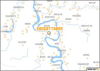 map of Nangattaban