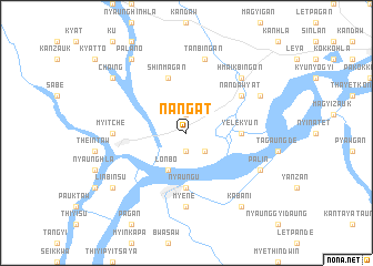 map of Nangat