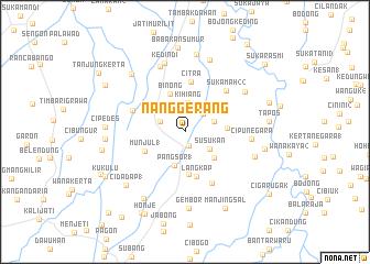 map of Nanggerang
