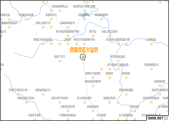 map of Nangyun