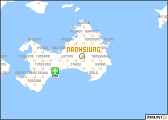 map of Nan-hsiung