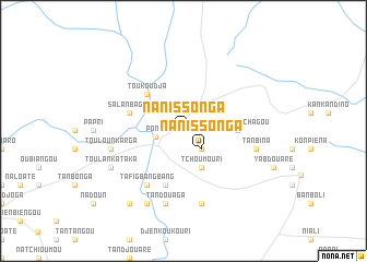 map of Nanissonga