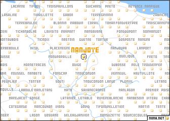 map of Nan Joye