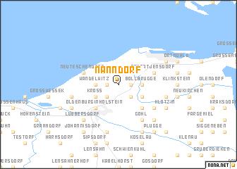 map of Nanndorf