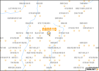 map of Nannyo