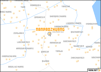 map of Nanpaozhuang