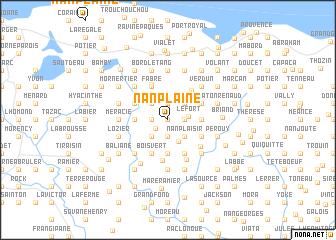 map of Nan Plaine
