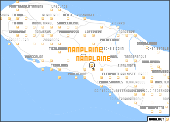 map of Nan Plaine