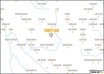 map of Nantwe