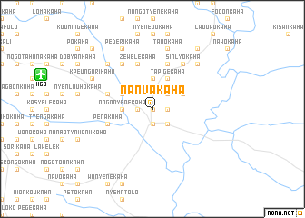 map of Nanvakaha