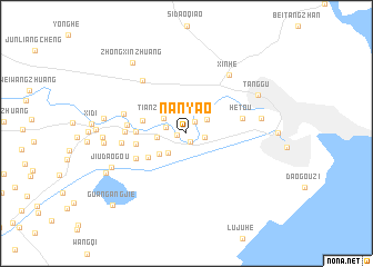 map of Nanyao
