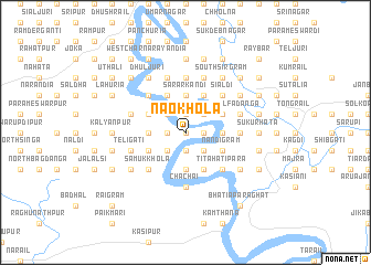 map of Naokhola