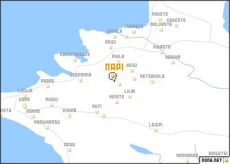 map of Napi