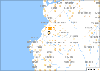map of Napo