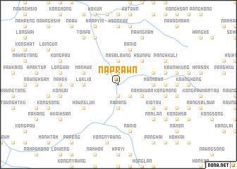 map of Naprawn